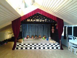 Ma-Mu-T-Zentrum - Bühne